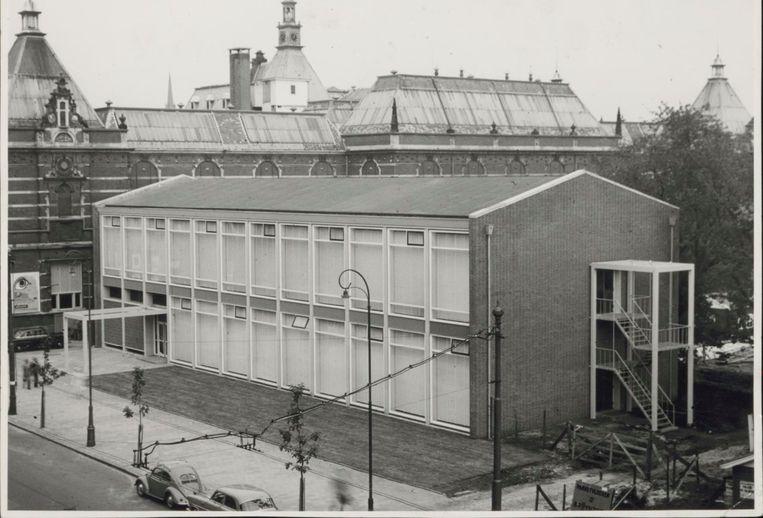 De Sandbergvleugel van het Stedelijk Museum. Beeld Stadsarchief