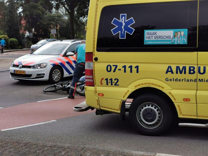 Hulpdiensten zijn ter plaatse in Bennekom.