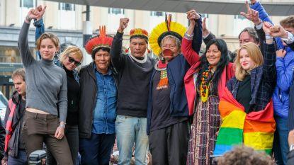 Braziliaanse indianenchef steunt Anuna
