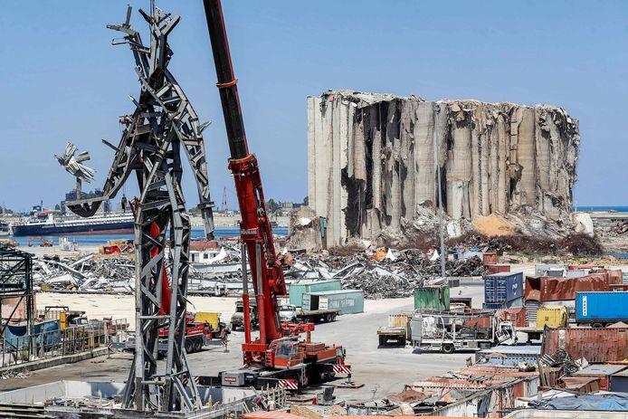Le port de Beyrouth en juillet 2021