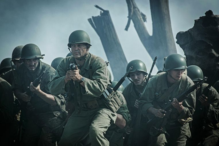 Deze anti-oorlogsfilm is niet meer of niet minder dan een bloederig gruwelspektakel. Beeld RV
