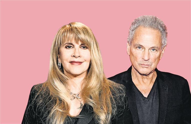 Stevie Nicks en Lindsey Buckingham van Fleetwood Mac. Beeld Getty