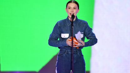 Millie Bobby Brown maakt fashion statement voor March For Our Lives