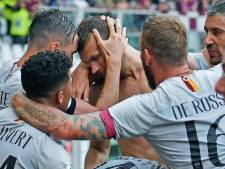 Kluivert schittert met assist op Dzeko bij debuut voor AS Roma