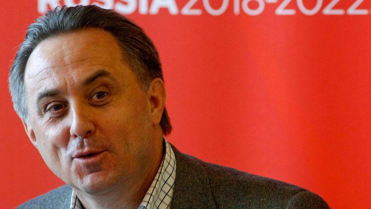 Vitali Mutko, Russisch minister van Sport. Beeld REUTERS