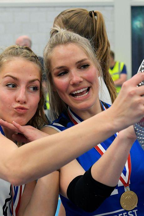 Zesde landstitel Sliedrecht Sport na bizar seizoen: 'Er was een moment dat tien meiden corona hadden'
