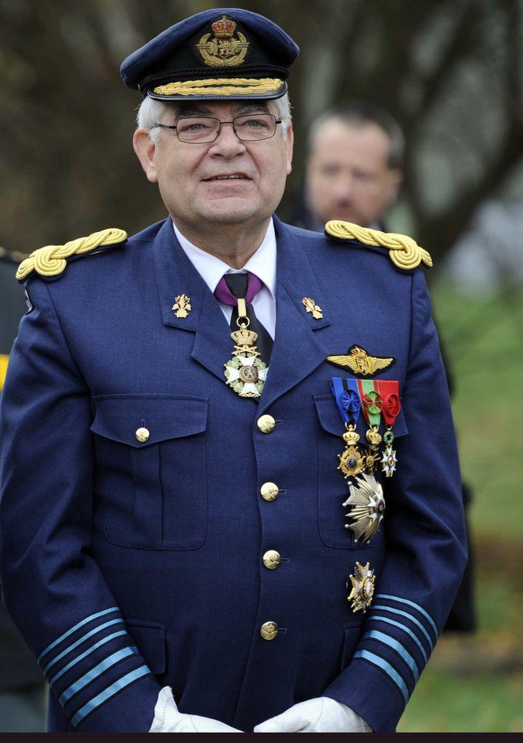 Gerard Van Caelenberghe staat tijdelijk aan het hoofd van het Belgische leger. Beeld BELGA