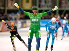 Ook marathonschaatser Gary Hekman uit Kampen moet thuiswerken: 'Maar in mijn beleving zijn we wél topsporter'
