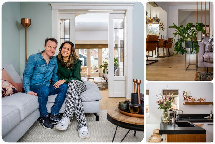 Wouter Barkmans en Lesley Hoogelander maakten samen een nieuwe start in het Molenlaankwartier.