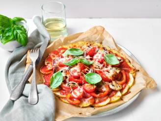 Back-to-schoolblues? Verwen je kroost met een lekkere aardappelpizza