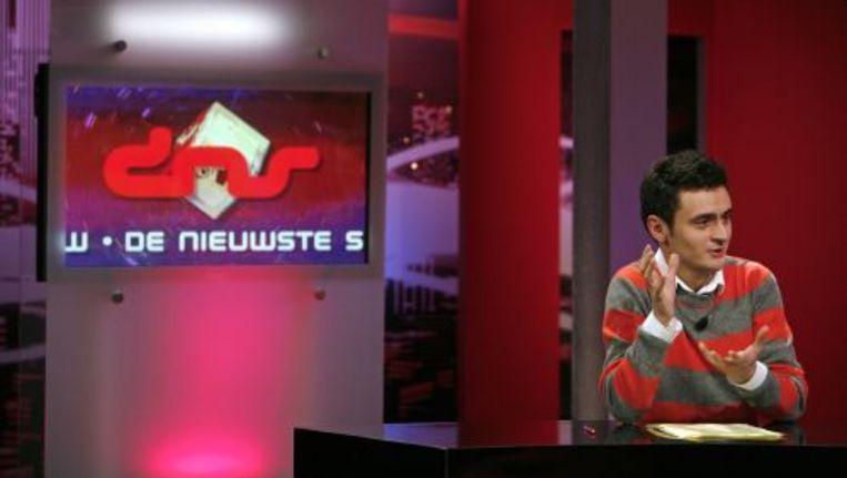 Faizi in de BNN-show De Nieuwste Show in 2007. ANP Beeld