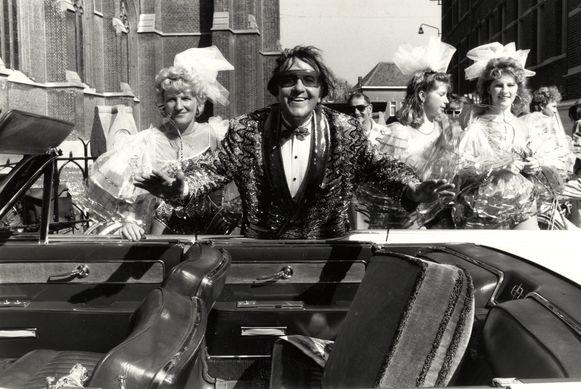 Eddy wally speelde in 1992 een thuismatch op de Katse Feesten.