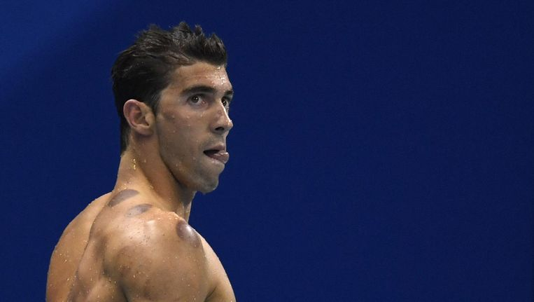 Michael Phelps Beeld null