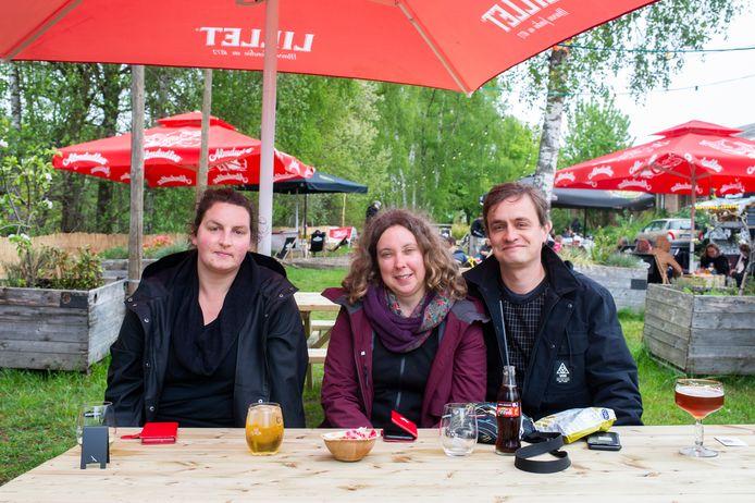 Sofia, Geertrui en Bert