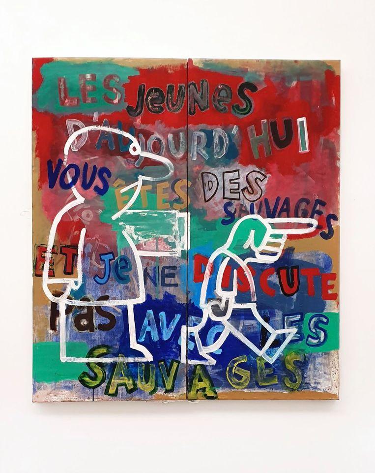 Flexboj & L.A. - La Jeunesse (2020), Barbé-Urbain Beeld GalleryViewer