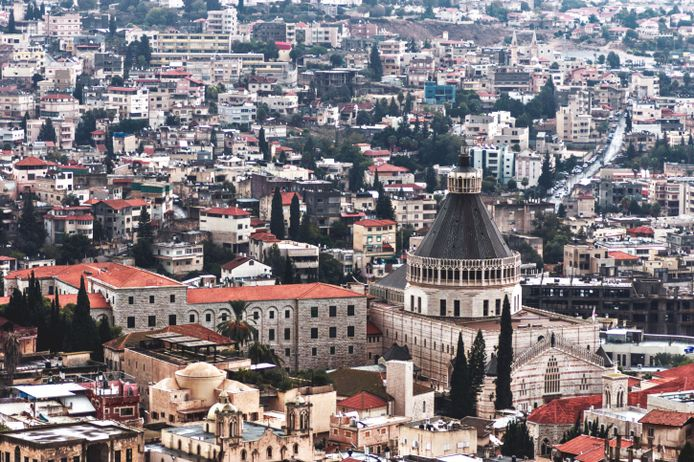 Nazareth, plus grande ville arabe d'Israël