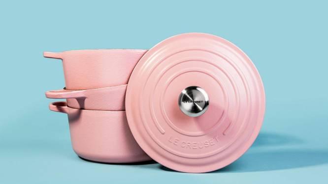 NINA tipt: de klassieker van Le Creuset in de hippe kleur millenial pink
