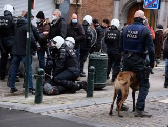 'Verboden' betoging in Brussel verloopt vredig, tot het tijd is om te vertrekken...
