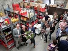 Truus Houtepen neemt afscheid bij de voedselbank Nuenen