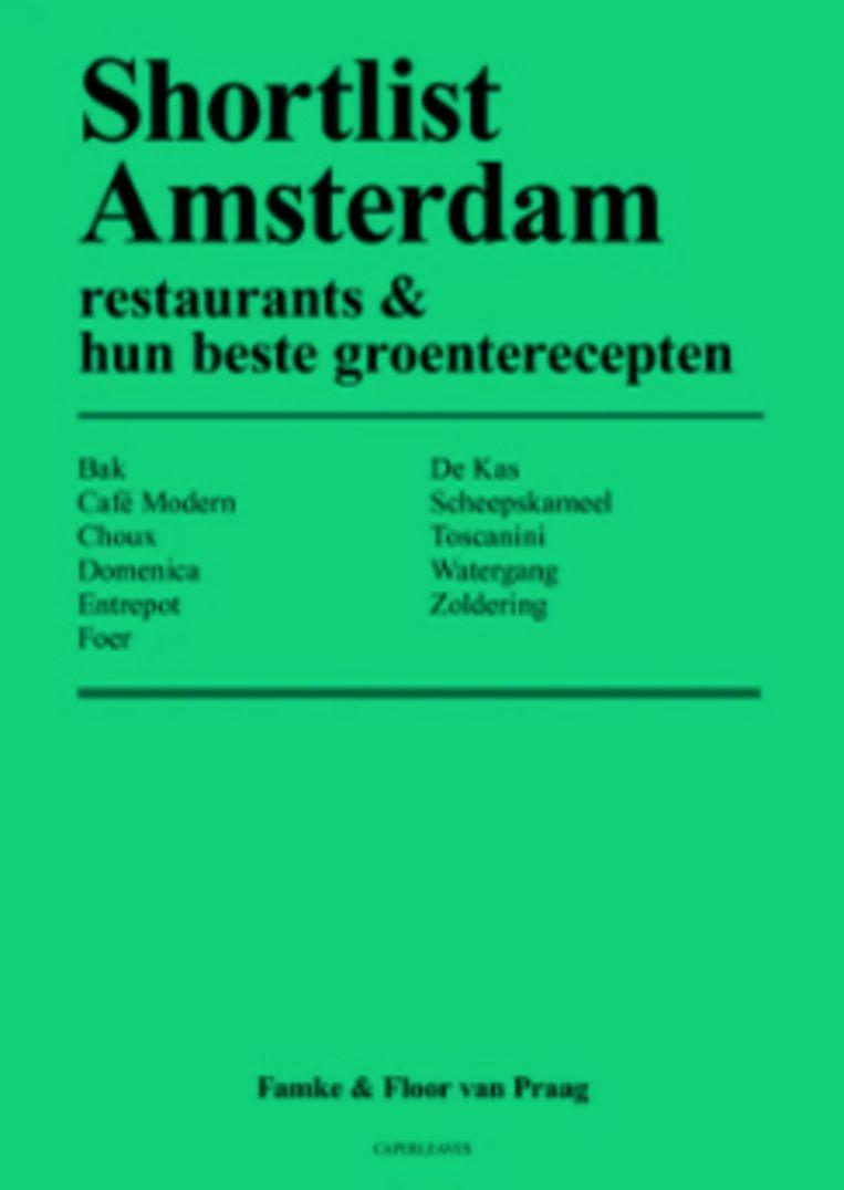 Shortlist Amsterdam Beeld geen credit