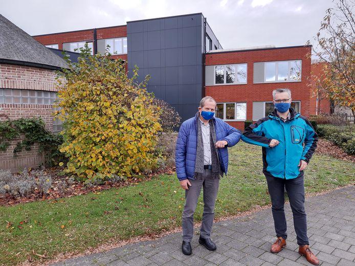 Wim Caeyers en Frans Heylen op site Ten Hove