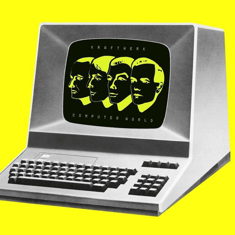 De hoes van 'Computer World' uit 1981 Beeld RV