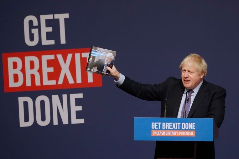 Brits premier Boris Johnson. Beeld AP