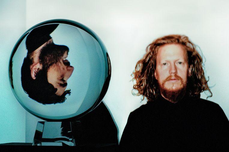 Het duo DARKSIDE, met Nicolas Jaar (links) en Dave Harrington. Beeld Jed DeMoss