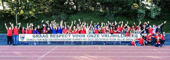 Atletiekclub Vlierzele Sportief kan rekenen op een grote familie van vrijwillige medewerkers.