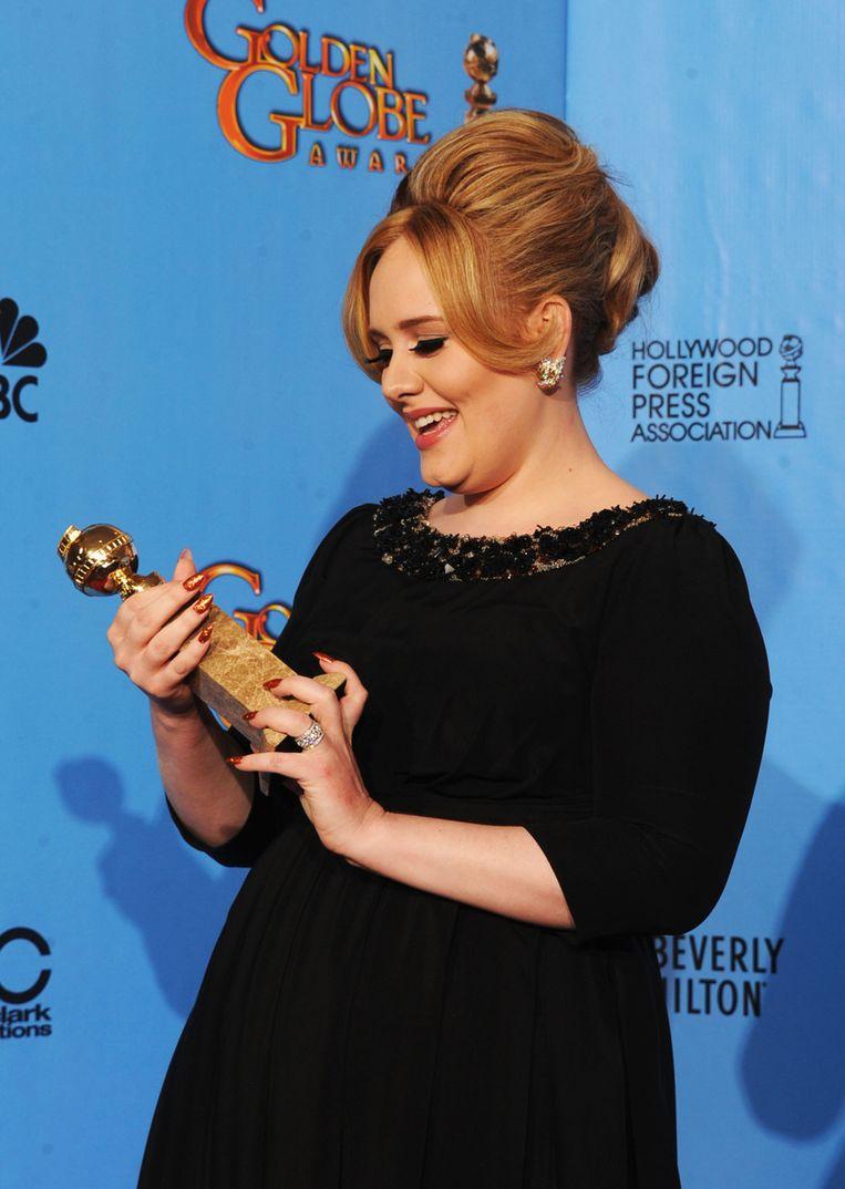 Adele, Beste Origineel Nummer Beeld AFP