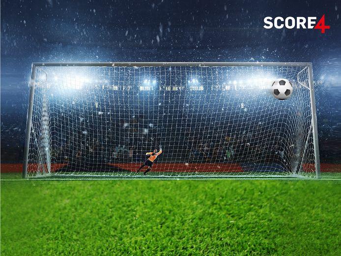 Het nieuwe voetbalspel Score4