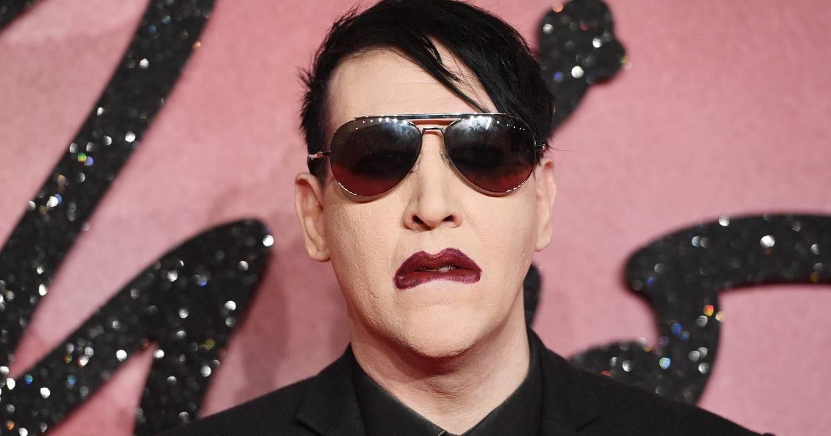 Van misbruik beschuldigde Marilyn Manson voelt zich onveilig en huurt beveiliging in - AD.nl