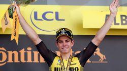 """Twitter smult van ritzege Wout van Aert: """"Tour de France wordt Tour des Belges"""""""