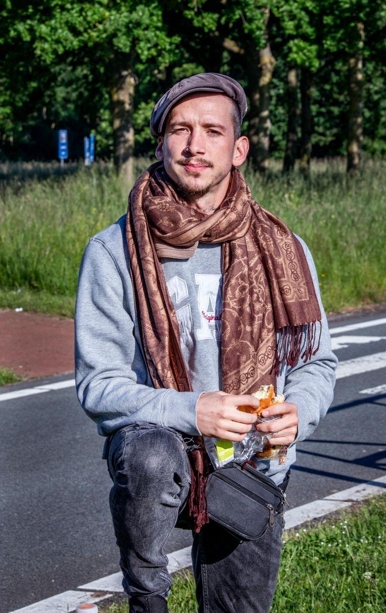 Lorenzo van Velzen (30).  Beeld Raymond Rutting / de Volkskrant