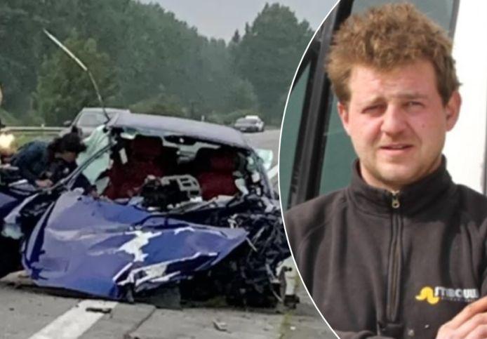 Timothy Serpieters overleed nadat hij met zijn Maserati tegen een boom terechtkwam.