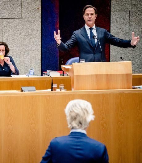 Wilders bij coronadebat: 'Waarom mogen sportscholen wel open, maar restaurants niet?'