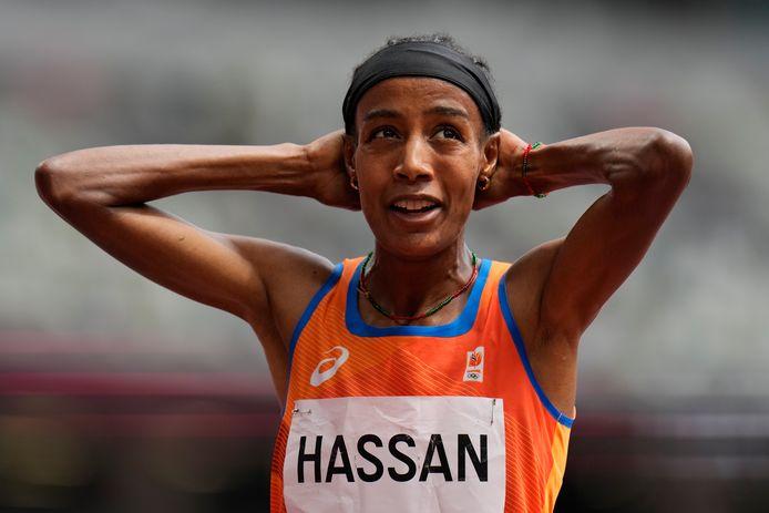 Ondanks haar val, weet Hassan toch nog te winnen.
