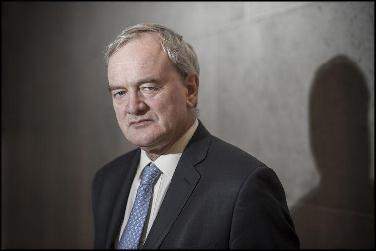 Willem Buiter, Brits econoom van Nederlandse afkomst. Buiter is verbonden aan de London School of Economics. Beeld Jeroen Oerlemans / Hollandse Hoogte