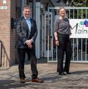 Ad Mallens en sportwethouder Tess van de Wiel.