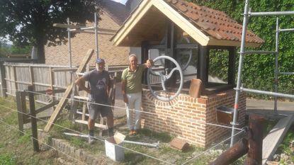Oude waterput gerestaureerd