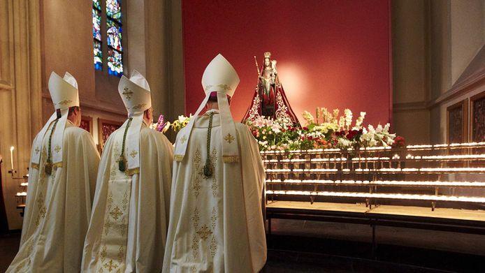 Bisschoppen in de Sint-Janskathedraal in Den Bosch. © ANP