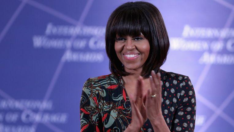 Michelle Obama Beeld afp