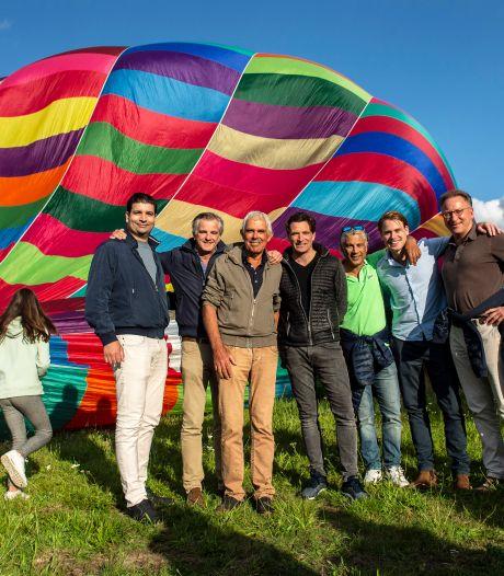 Frank (66) uit Woensdrecht overleefde kanker en neemt zijn redders uit dank mee in een ballonvaart