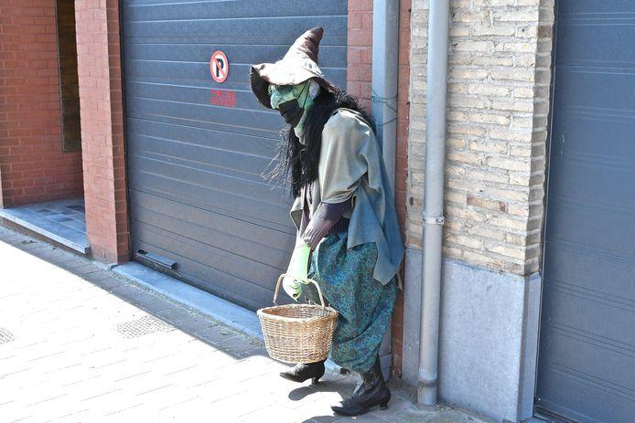 De heksenstoet gaat komend weekend niet door.