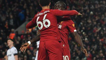 Nog steeds ongeslagen: Liverpool komt met schrik vrij tegen West Ham United