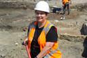 Archeoloog Annelies van Benthem van ADC ArcheoProjecten.