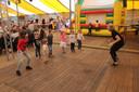 Tijdens de kindernamiddag was er ruimte voor verschillende workshops, zoals dansen en schminken.