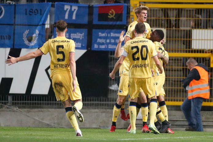 Charles De Ketelaere a libéré le Club de Bruges dans les arrêts de jeu à Charleroi.