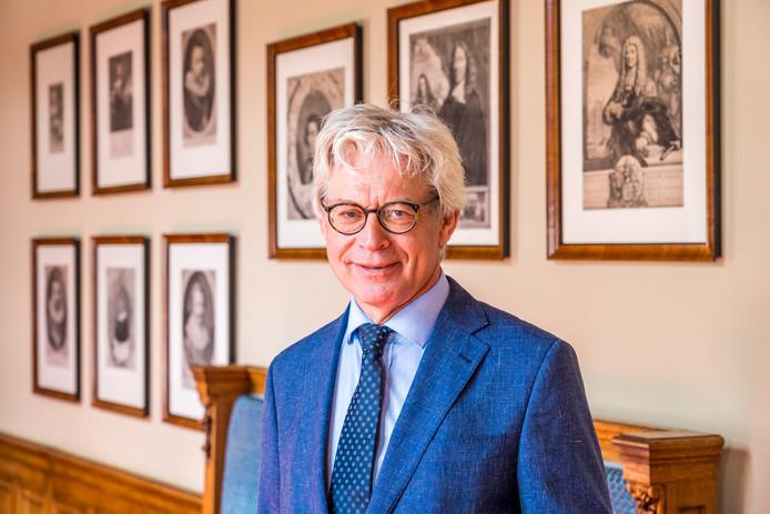 Oud burgemeester van Leeuwarden Ferd Crone
