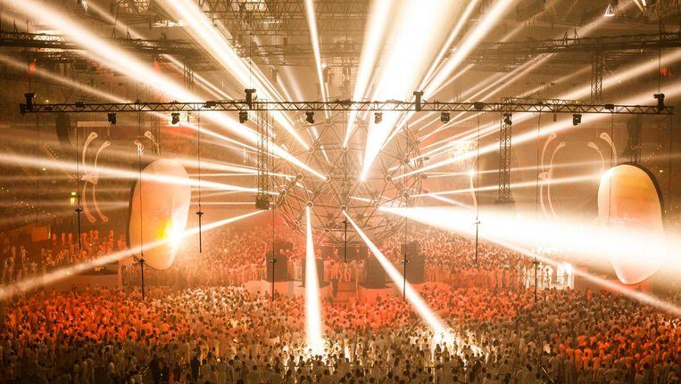 Zaterdag vindt na zeventien jaar de laatste editie van Sensation White plaats in de Johan Cruijff Arena. Beeld ID&T